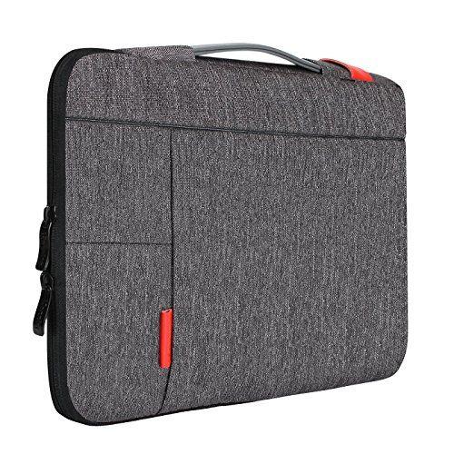 iCozzier 15-15,6 Zoll Laptoptasche mit Griff tragbare Laptoptasche Sleeve H�lle Schutztasche f�r Macbook Air/ MacBook Pro / Pro Retina Sleeve - Dunkelgrau