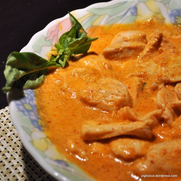 My friend recently visited Thailand and took one of those cooking classes in Chiang Mai. One of the dishes that she learned was the Thai curry chicken along with a few other dishes. She emphasized …