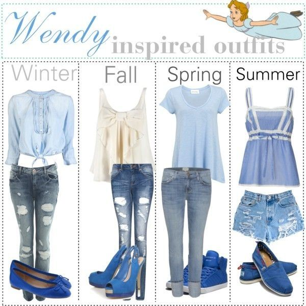 Wendy inspired outfits