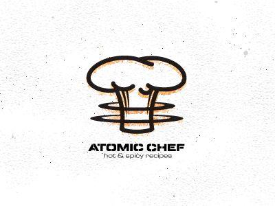 Mike Bruner via dribbbleDesign Inspiration, Chefs Logo, Logo Design, Atoms Chefs, Quality Logo, Logo Inspiration, Logos Design, Graphics Design, Logo Mark