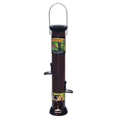 Droll Yankees Nyjer Tube Bird Feeder with Removable
