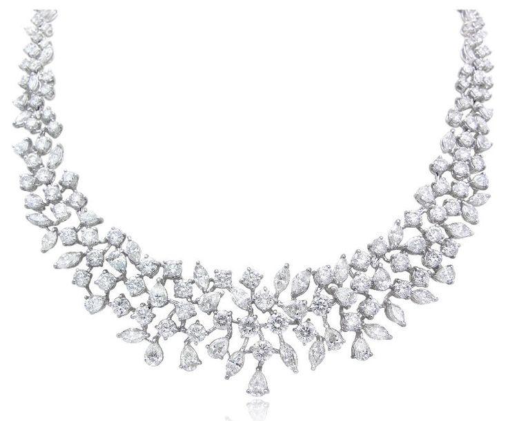 Lovely Wedding Diamond Necklace
