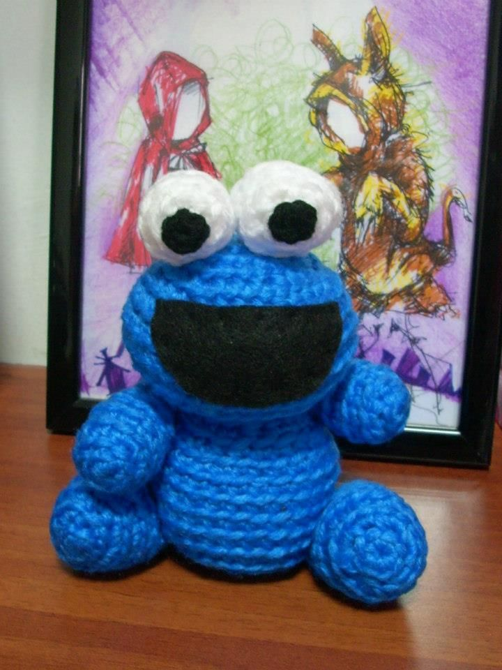 Amigurumi Cookie Monster : 1000+ images about crochet project on Pinterest Free ...