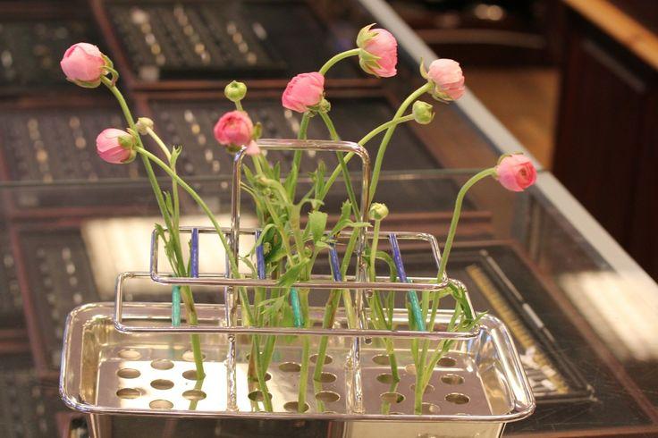 FINN – Oppsats i sølv for blomster. Tostrup. Sjeldenhet!