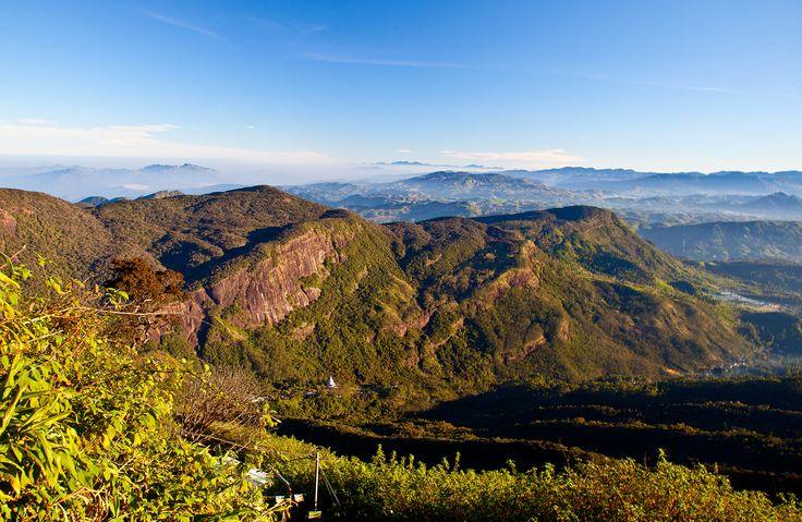 Srílanka - pohled z Adamovy hory