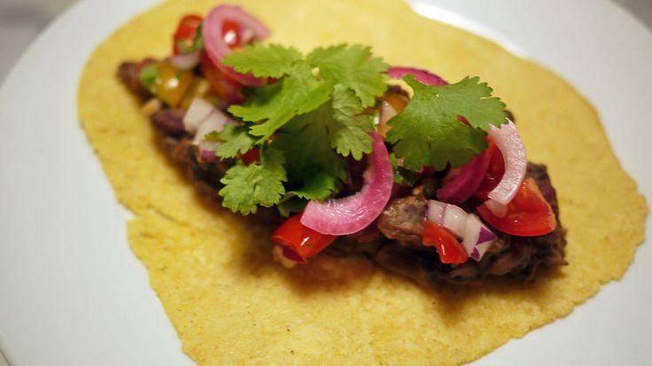 Slik lager du meksikansk taco - helt fra bunnen av! #godtno