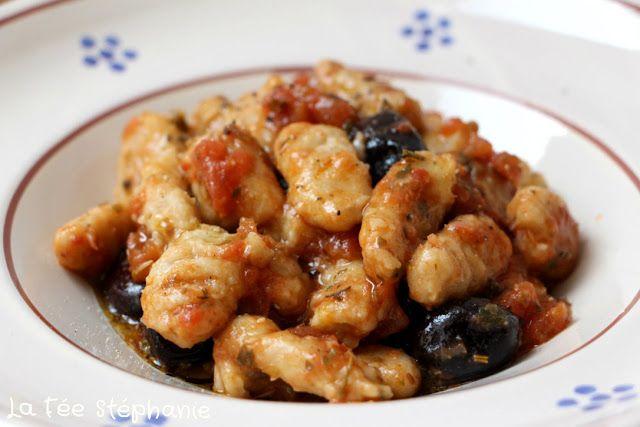 """Gnocchi di ceci al pomodoro """"Gnocchis de pois chiches à la tomate"""", des saveurs rustiques pour un plat incroyablement savoureux"""