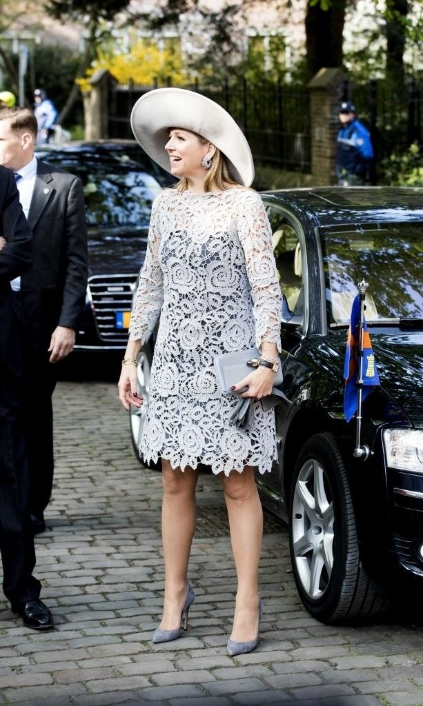 Queen Maxima Opens Exhibition of Chinese Porcelain in Prinsenhof Delft