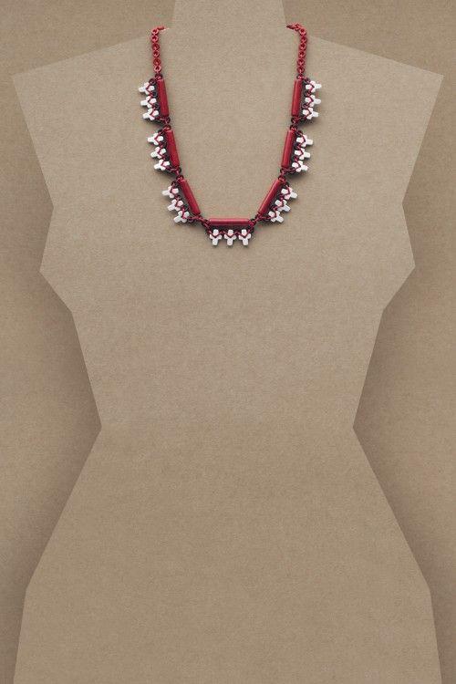 Mariana Necklace #necklace #jewellery #jewelry #fashionaccessories #accessories #beadednecklace #ceramicbeads #ethnicstyle #bohostyle