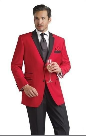 groomsmen with red tie - Google Search