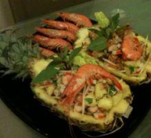 Recette - Salade thaï aux crevettes et à l'ananas - Proposée par 750 grammes