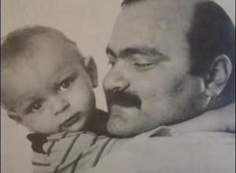Ion Aldea teodorovici with son