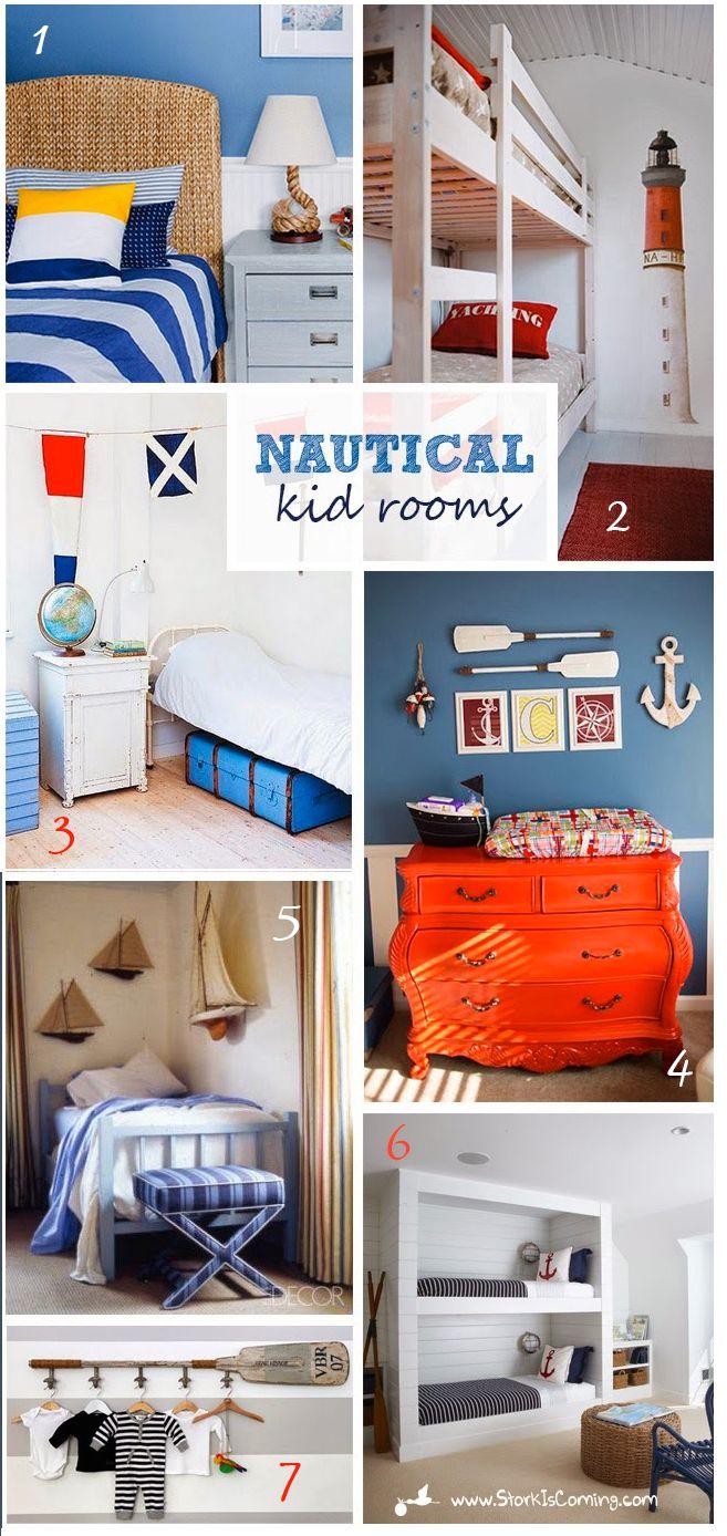 StorkIsComing.com- nautical room inspiration for kids