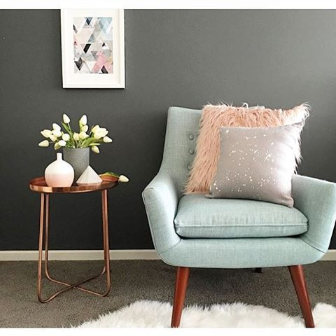 #regram from @styledbydi featuring the Kmart side table and fluffy cushion! #kmartaddictsunite #kmartstyling #kmartaus #interiorstyling #interiordesign #interiordecorating #interior #decor #design #style #styling