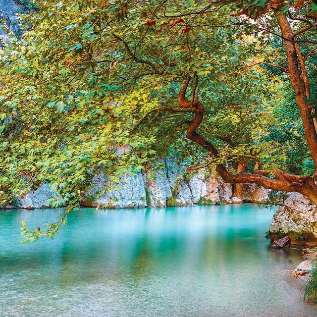 Acherontas River, Epirus - Greece.
