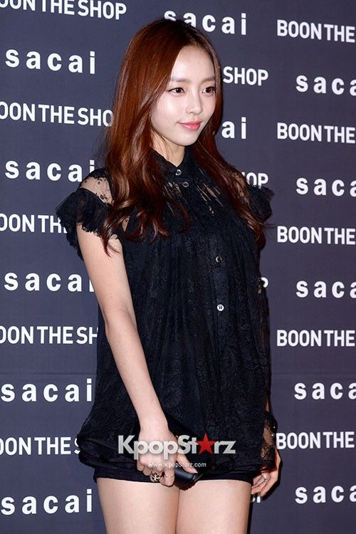 Kara\s Goo Ha Ra Attends BOON THE SHOP \SACAI\ AW 2013 Fashion Show on April 24, 2013Kara\s Goo Ha Ra Attends BOON THE SHOP \SACAI\ AW 2013 Fashion Show on April 24, 2013