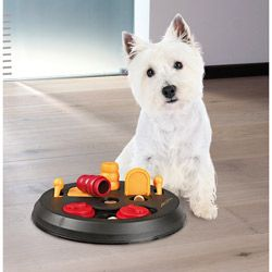 Trixie Flip Board Interactive Dog Toy Puzzle (Level 2) | Overstock.com Shopping - The Best Prices on Trixie Pet Products Pet Toys