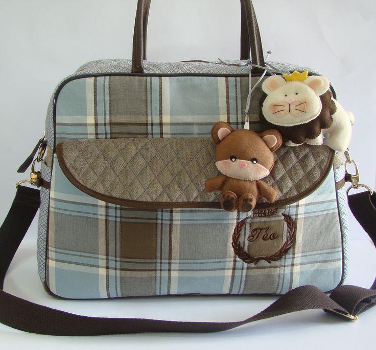 Bolsa maternidade personalizada www.puppen.com.br