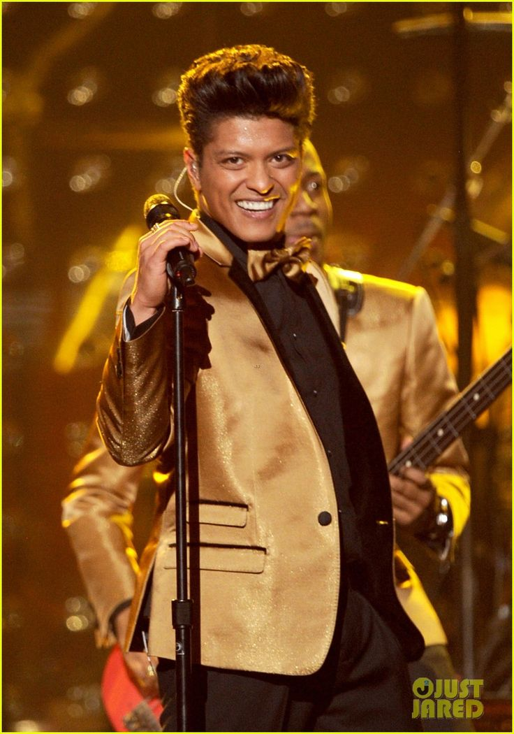 Bruno Mars - From his 2012 Grammy Awards performance. One of the most  amazing performances