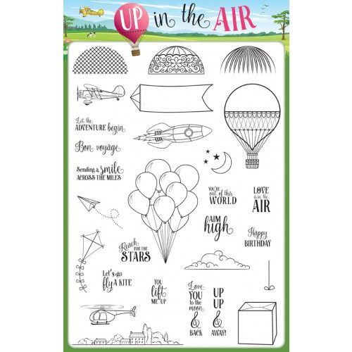 FREE with issue 33 - Up in the Air collection!