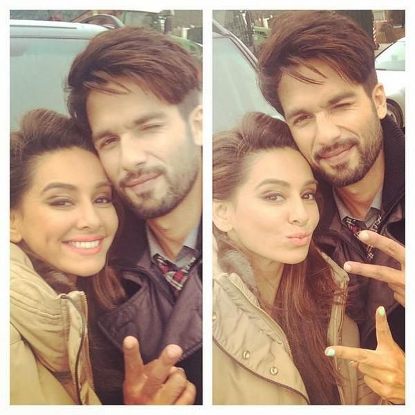 Shahid and a fan