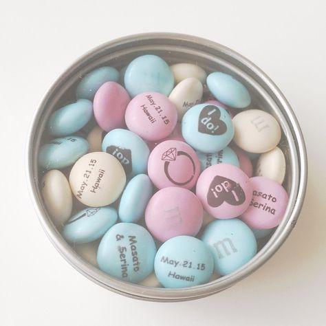 写真やメッセージが入れられる♡M&M'Sのオリジナルチョコレートをプチギフトに作りたい♩にて紹介している画像