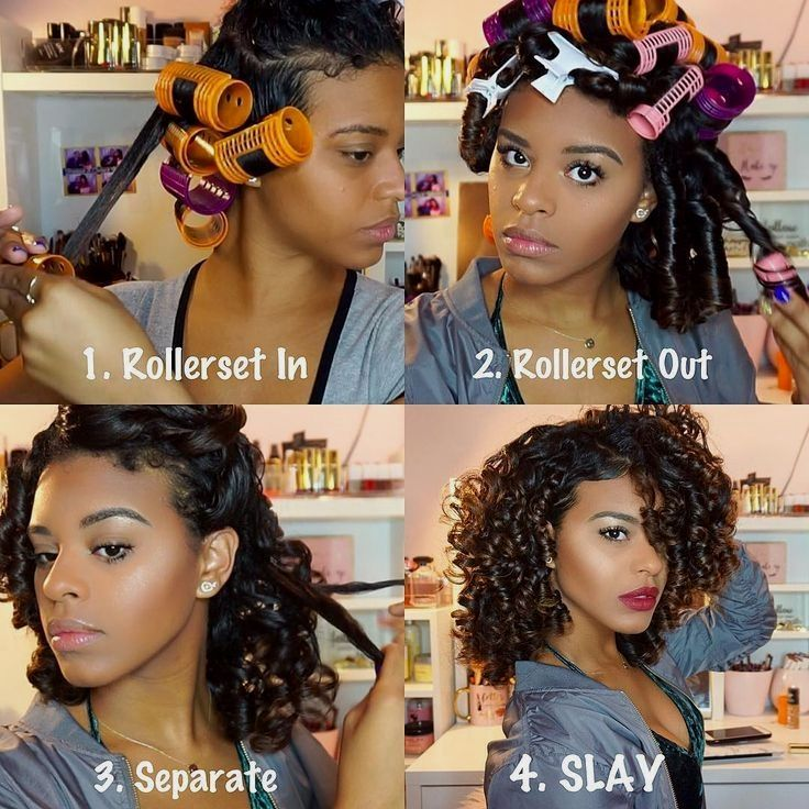 Good Hairstyles Creative Ideas For Amazing Looking Hair Your Hair Is Certainly Exactly What Can In 2020 Roller Set Natural Hair Curly Hair Styles Natural Hair Styles