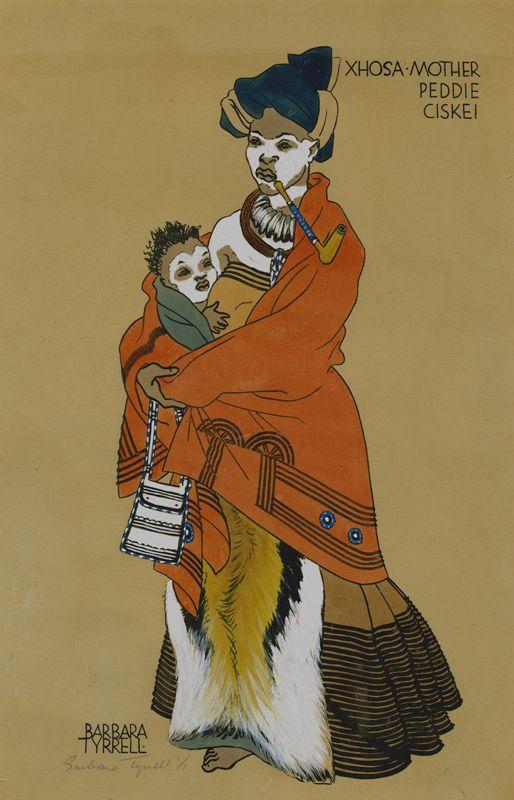 Xhosa-Mother-Peddie-Ciskei-South-Africa-by-Barbara-Tyrrell