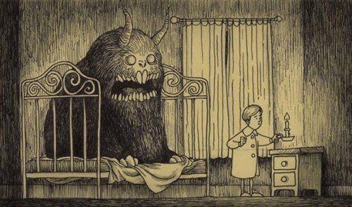 Mostri teneri e spaventosi disegnati sui Post-it #HalloweenInspiration