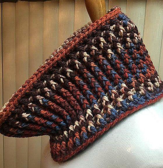 Crochet Neck Warmer, Cowl Neck Warmer, Chunky Neck Warmer, Bulky Cowl, Multi…