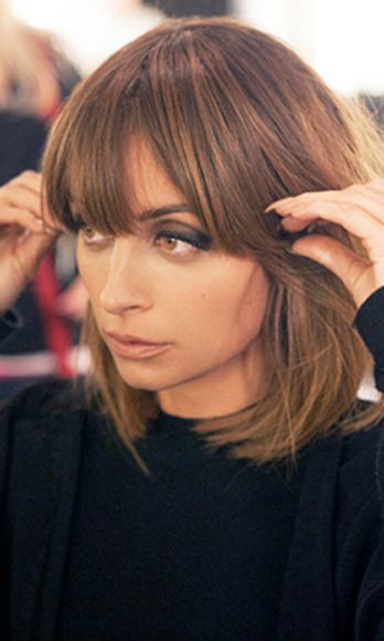 "Do You Cry When You Cut Bangs? - Nicole Richie is kind of amazing and we're definitely obsessed with her in her new AOL series ""Candidly Nicole."""