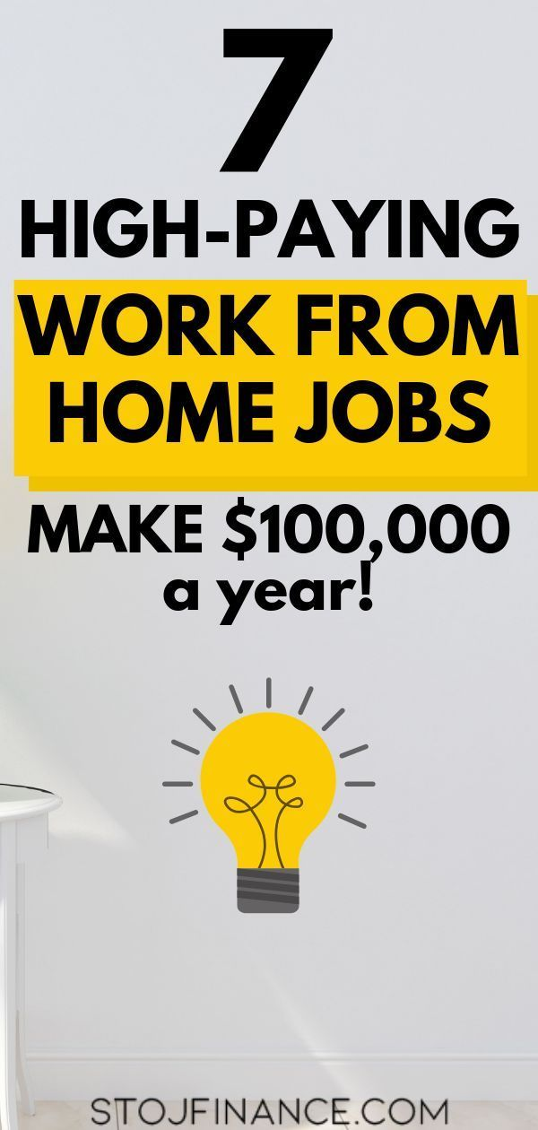 7 High-Paying Work From Home Jobs In 2019 – Best Side Hustles