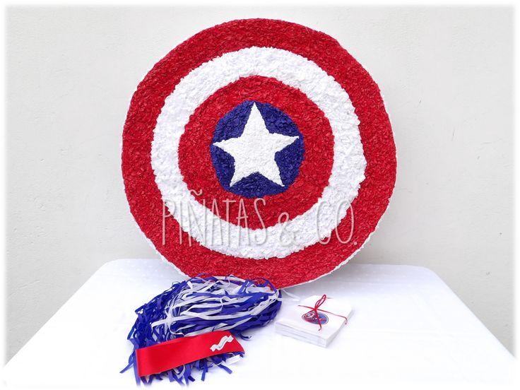 Piñata Escudo del Capitán América // Captain America Shield Pinata