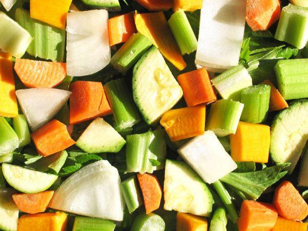 Taglio delle verdure:conservare proprietà ed energie - Cucina Semplicemente