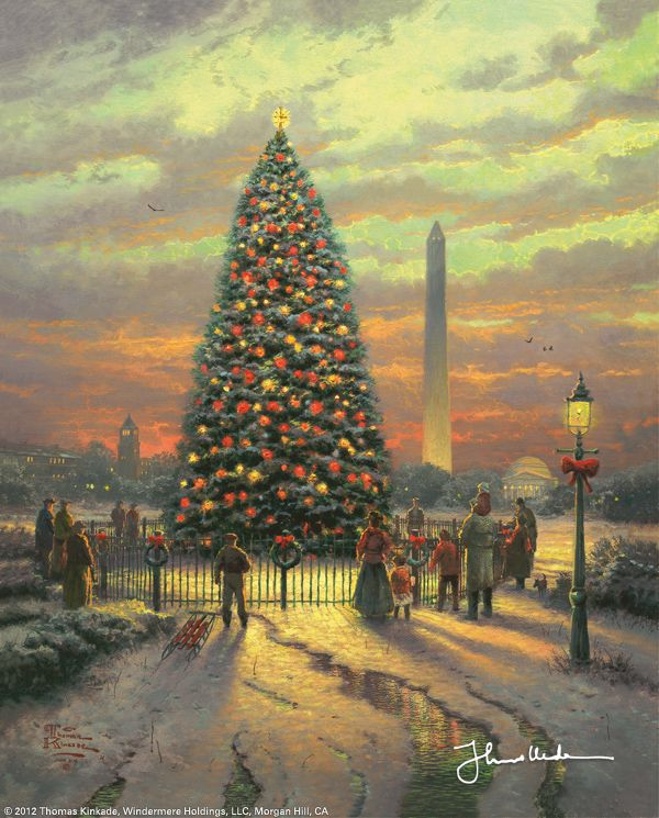 Symbols of Freedom by Thomas Kinkade December 2004