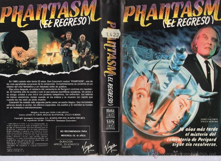 PHANTASM II (1988), PAL VHS, MCEG VIRGIN VISION, ESPANJA, what is the E.U., Sylvia KRISTEL, Katherine MOENNIG, Noomi RAPACE, Dylana SUAREZ, Louise BASILIENE, Plastiscines, Christine and the Queens, Natalie Off Duty, Natalie SUAREZ, Jag Lever, Rachel-Marie IWANYSZYN, neo grunge, indie hipster, fashion inspiration, what is feminism, boudoir poses, videokirjasto, rockabilly girls, bohemian outfit, gypsy punk, ikonit, it girls, kauhu, uusi aalto, French new wave, bedhead, hippi, tyyli ja muoti