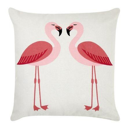 Flamingos Cushion #Dunelm #Decor #Home #Birds