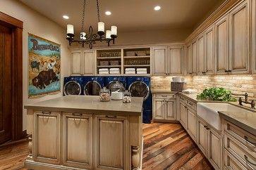 Southwestern Ranch - traditional - laundry room - phoenix - Calvis Wyant Luxury Homes