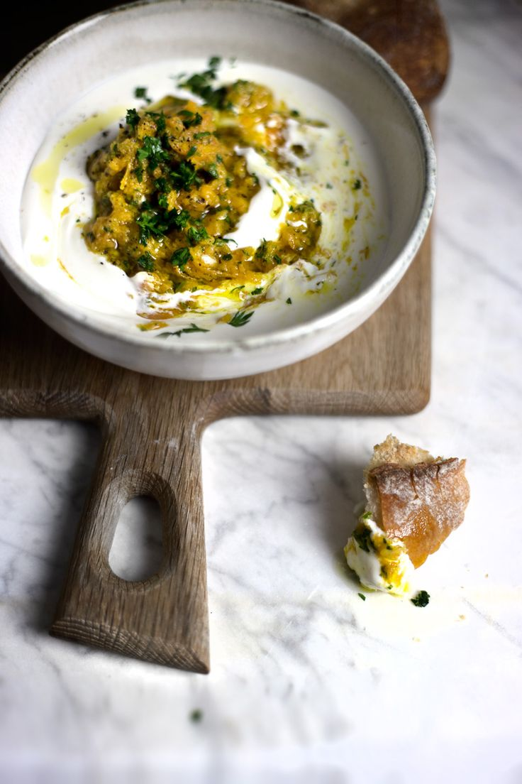 whipped feta and carrot-pesto