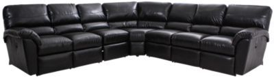 Homemakers Furniture: 5 Piece Reclining Sectional: La-Z-Boy: Living Room: Sectionals
