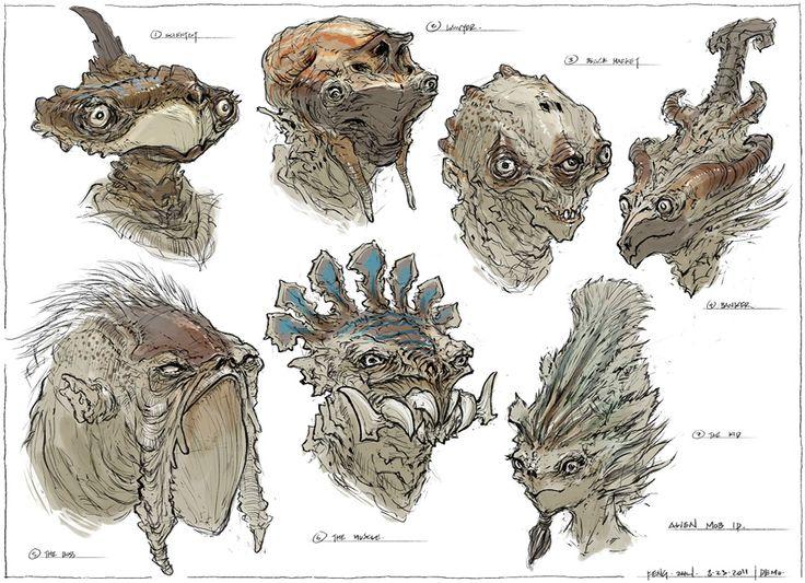 Feng Zhu Design: Alien Mobsters