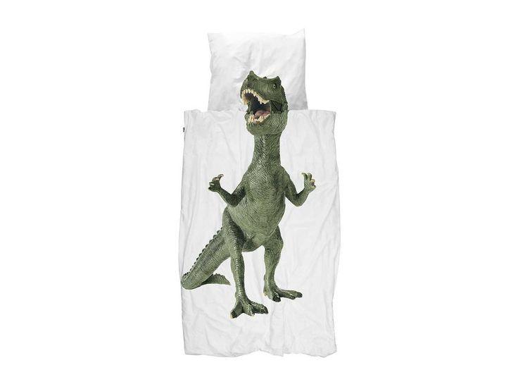 Snurk Beddengoed Dinosaurus Rex Dekbedovertrek