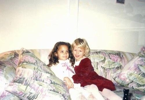 Nicole Richie with Paris Hilton