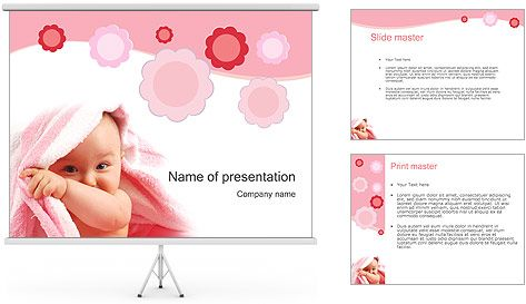 Bebé Plantillas de Presentaciones PowerPoint y Fondos ID ...