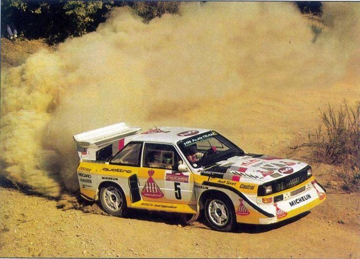 San Remo 1985 - Röhrl Walter - Geistdörfer ChristianiconAudi Quattro S1