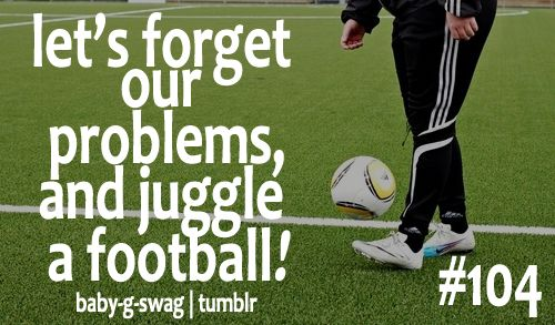 Forget about problems! Juggle it!
