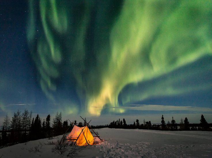 """Diese Aufnahme trägt den Titel """"Arctic Nights"""", arktische Nächte. Sie ist in..."""