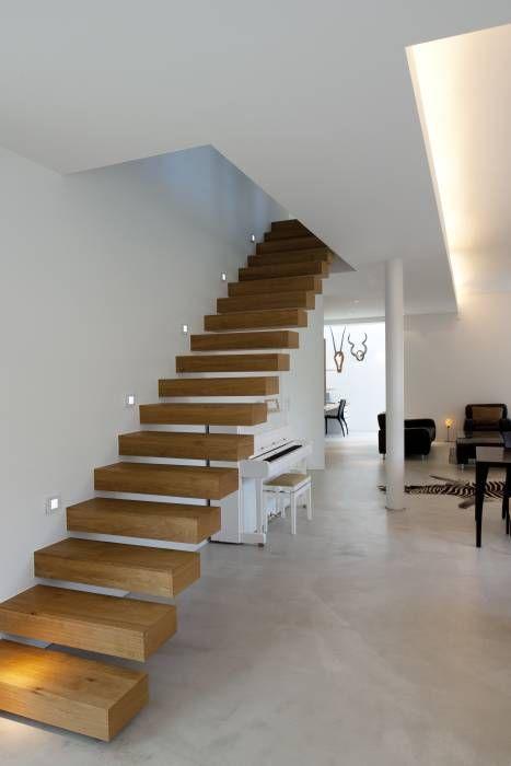 Modernes Einfamilienhaus in Essen: moderne Wohnzimmer von Stockhausen Fotodesign