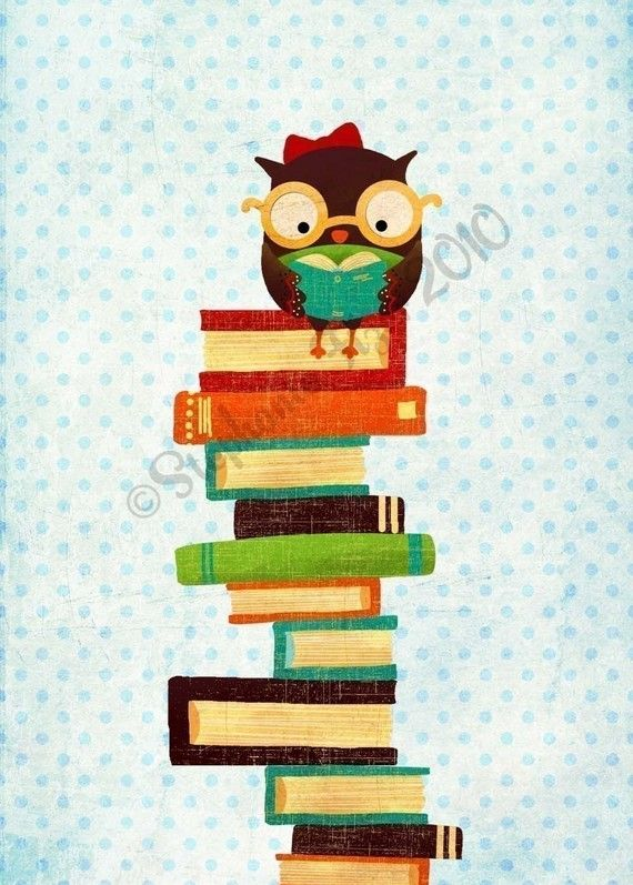"Bookish Owl Too $10 would be cute in reading area in classroom with the sayin "" reading builds knowledge"".  Will make."