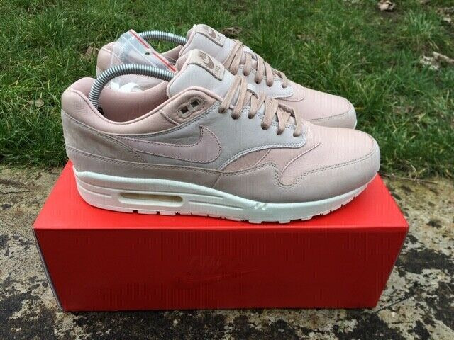 Details about NIKE LAB AIR MAX 1 PINNACLE Size 10 UK Sand
